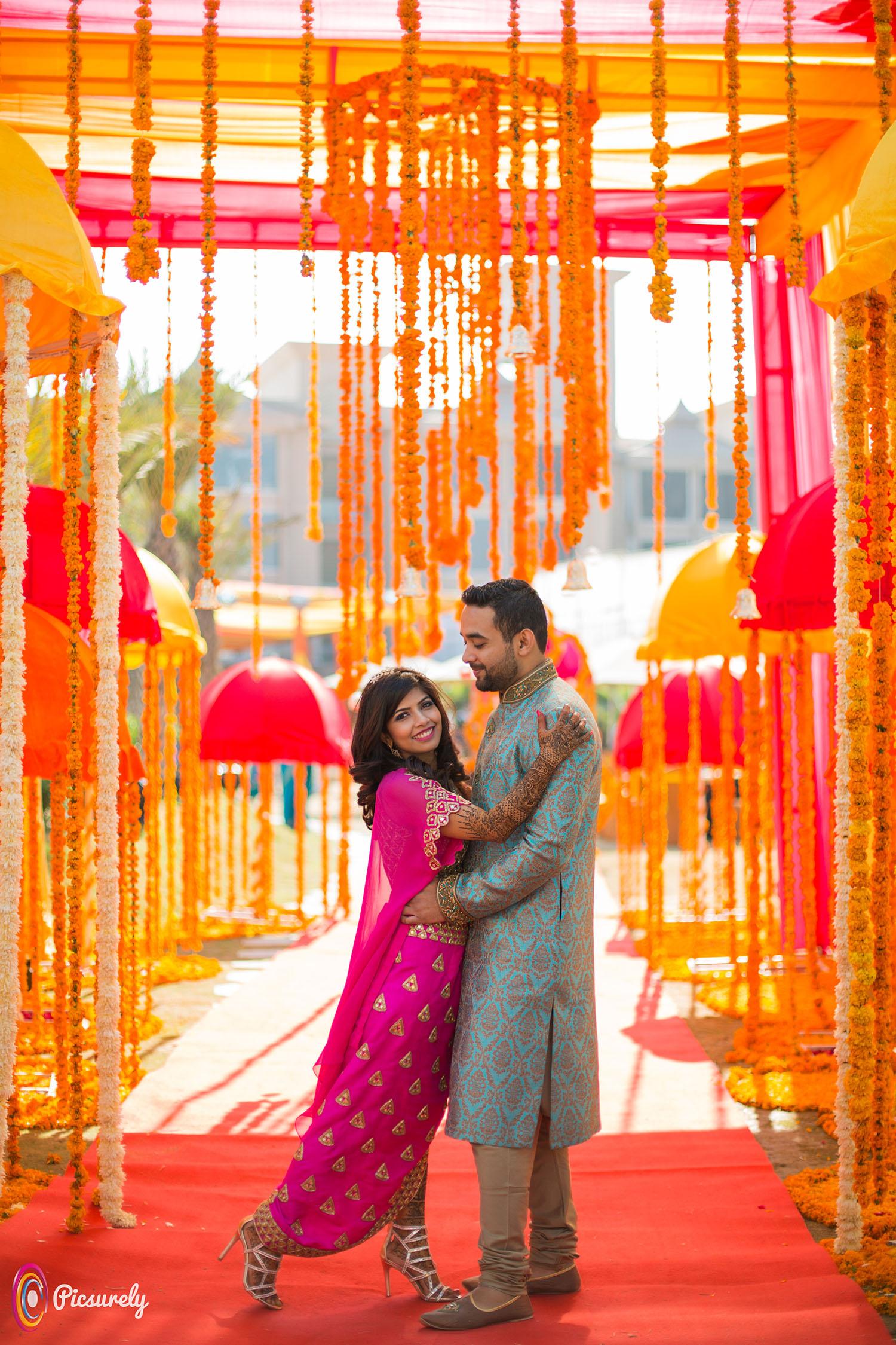 Sajal and Rahul Wedding