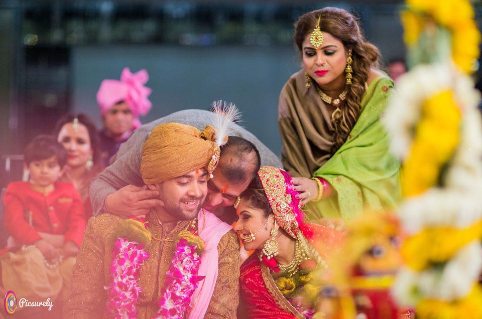 Sajal and Rahul Wedding in Mumbai