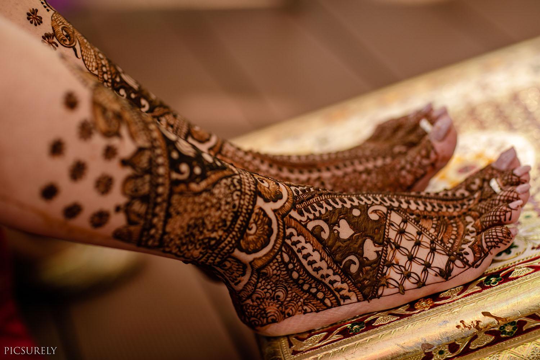 Mehndi in Wedding