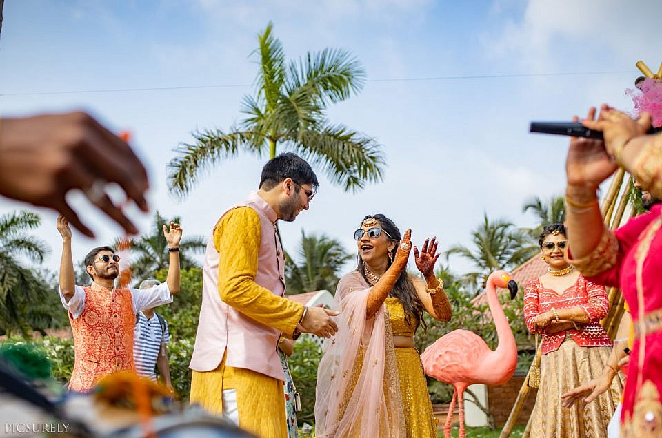 Why hire a professional photographer for a home wedding?