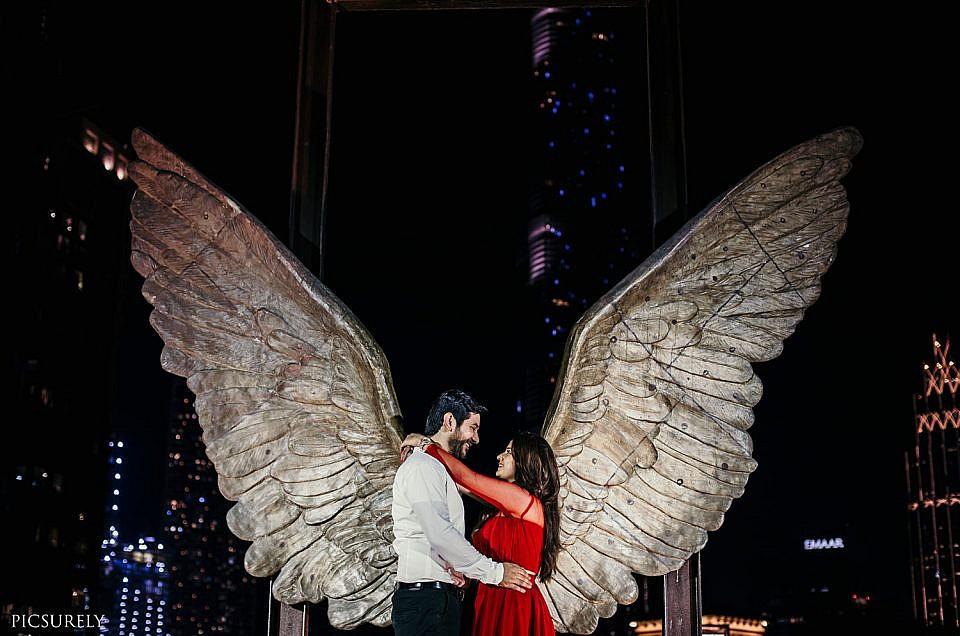 NAVIN AND CHANDINI PRE WEDDING | DUBAI